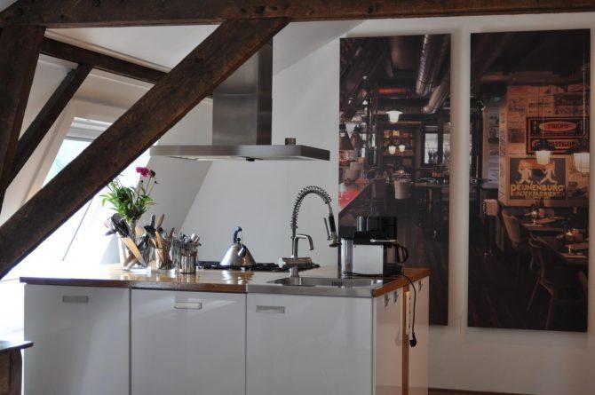 Dorpswoning Op Niveau - Villapparte - Luxe appartement voor 6 personen - Noord Brabant - keuken