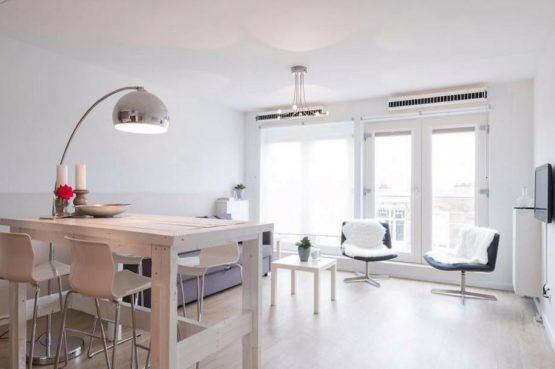 Villapparte_Helena aan Zee_luxe vakantieappartement Scheveningen_woonkamer2