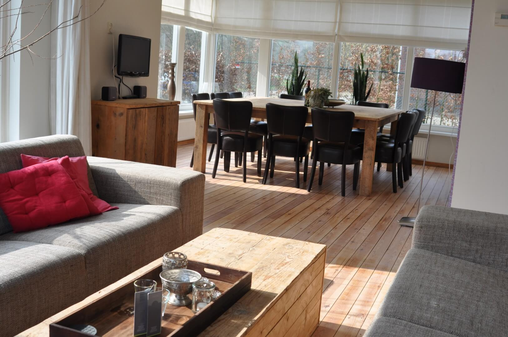 Vakantiehuis het landelijke i een modern vakantiehuis voor 12 personen
