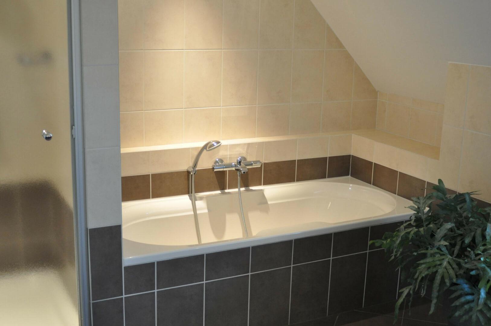 Badkamers Noord Brabant : Ferienwohnung het uitzicht i ein modernes landhaus für 14 personen