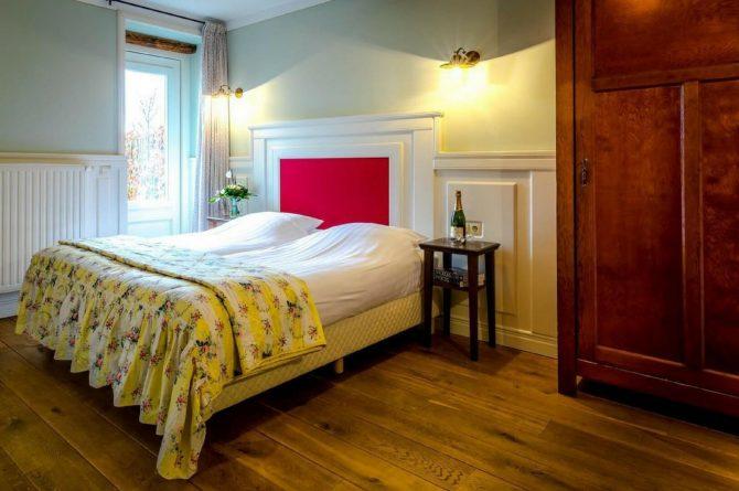 Vakantiehuis De Poel-Villapparte-Smockelaer-luxe groepsaccommodatie-26 personen-Zuid Limburg-romantische slaapkamer