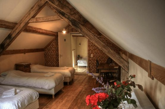 Vakantiehuis De Poel-Villapparte-Smockelaer-luxe groepsaccommodatie-26 personen-Zuid Limburg-slaapkamer voor 3 personen