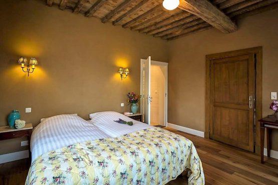 Vakantiehuis La Mairie-Villapparte-De Smockelaer-luxe vakantiehuis voor 35 personen-België-groepsaccommodatie-luxe slaapkamer
