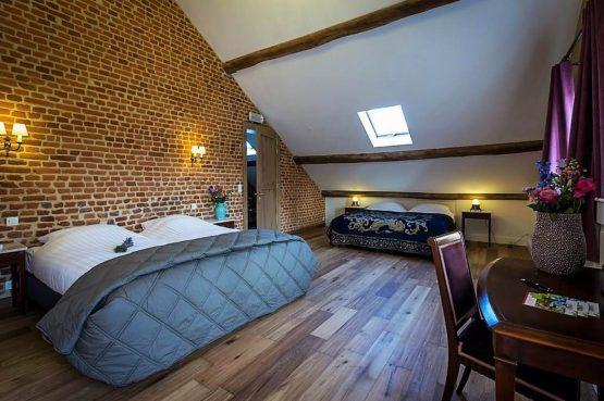 Vakantiehuis La Mairie-Villapparte-De Smockelaer-luxe vakantiehuis voor 35 personen-België-groepsaccommodatie-luxe slaapkamer voor 4 personen