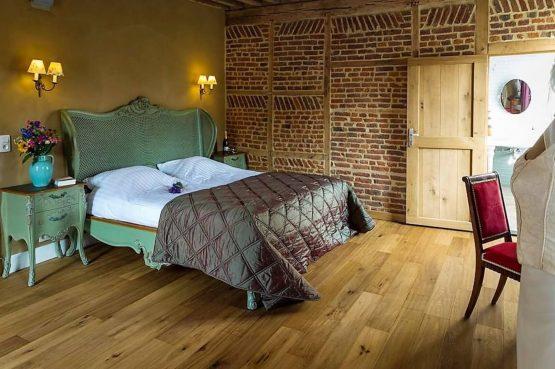 Vakantiehuis La Mairie-Villapparte-De Smockelaer-luxe vakantiehuis voor 35 personen-België-groepsaccommodatie-nostalgische slaapkamer