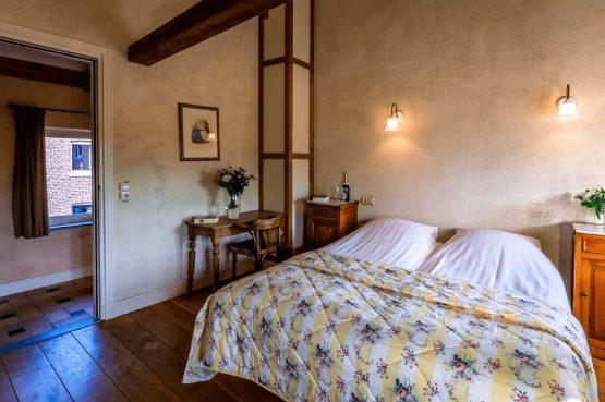 Vakantiehuis de Flab-Villapparte-Smockelaer-Monumentale en luxe vakantiehuis_12 personen_luxe slaapkamer