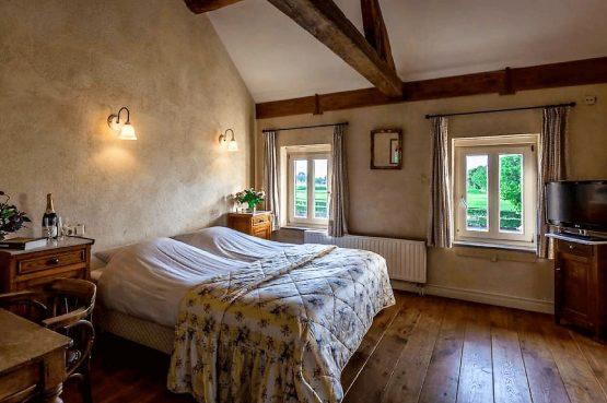 Vakantiehuis de Flab-Villapparte-Smockelaer-Monumentale en luxe vakantiehuis_12 personen_slaapkamer met 2-persoonsbed