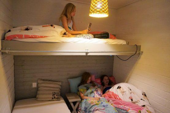 Vakantiehuis de Bosbries-Villapparte-luxe vakantiebungalow-Drenthe-voor 5 personen-kinder slaapkamer