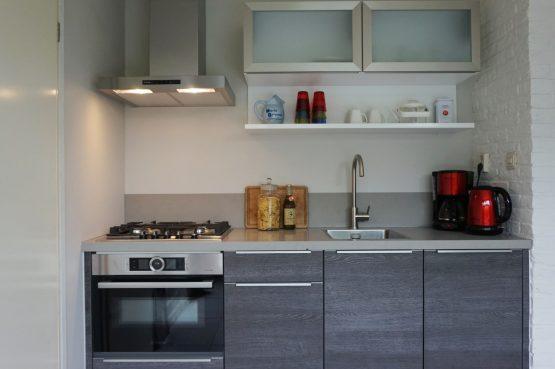 Vakantiehuis de Bosbries-Villapparte-luxe vakantiebungalow-Drenthe-voor 5 personen-luxe keuken