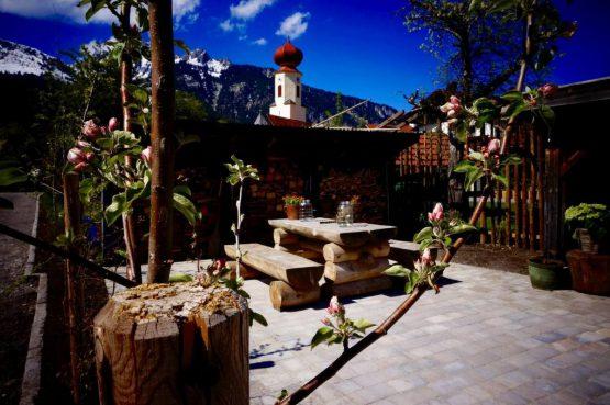 Villapparte_Bauernlodge_luxe appartementen_Oostenrijk_tuin zomer1