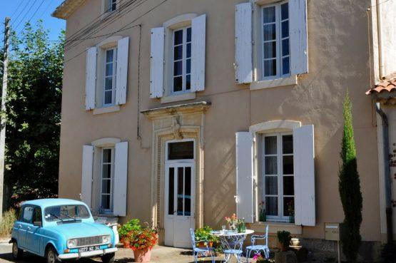 Villapparte_La Souche_vakantiedomein in Languedoc frankrijk_voorkant huis