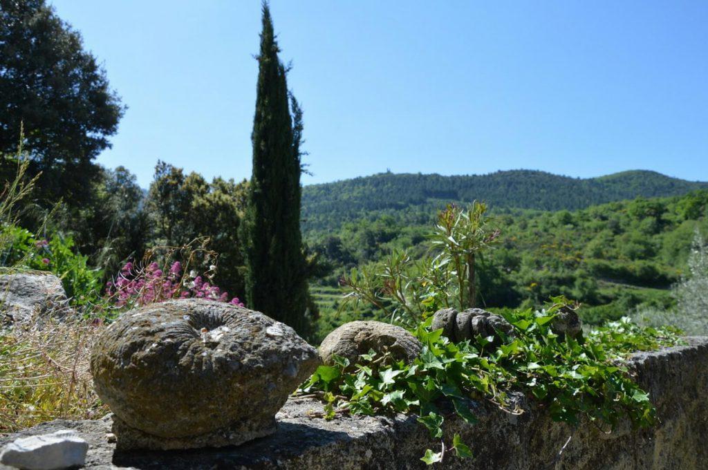 Villapparte_Les Oliviers du Taulisson_unieke Chambres d'Hôtes bij de Mont Ventoux_uitzicht2