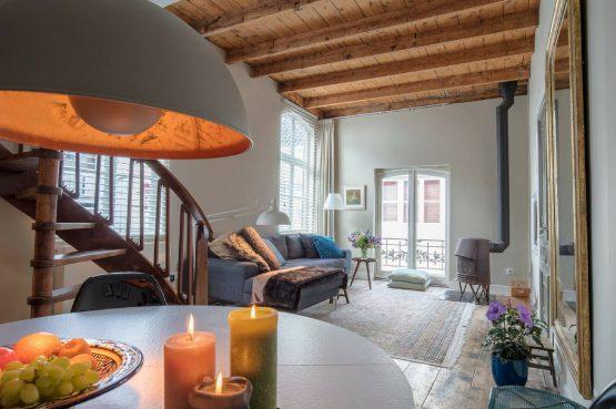 Villapparte_uniek vakantieappartement_Middelburg_Zodiac_woonkamer1