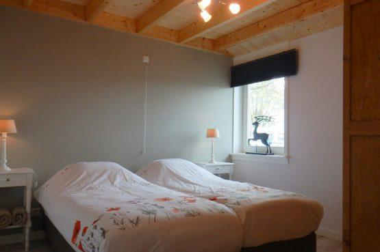 Villapparte-Vecht en Weide-Luxe vakantiehuis Scholekster-Weesp-slaapkamer