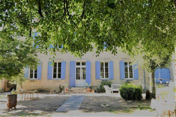 Villapparte_Côte Verger_authentieke Chambres d'Hôtes_Dordogne_voorkant huis3