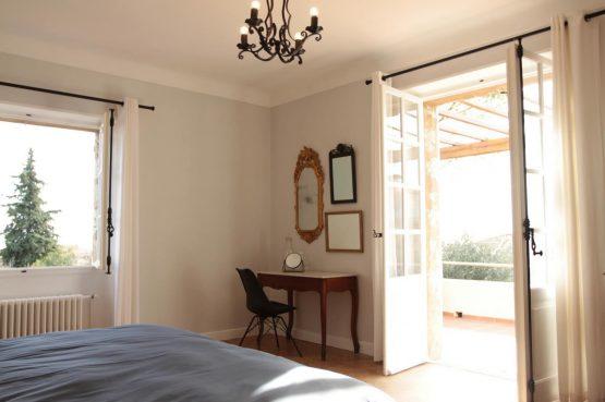 Villapparte_Villa Au Souleu_historisch vakantiehuis Vence 12 personen_Zuid-Frankrijk_slaapkamer1