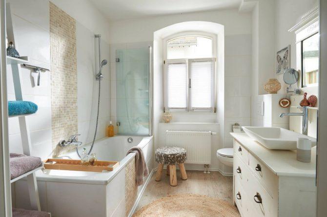Villapparte-luxe vakantiehuis Lemontree met sauna - 7 personen -Vulkaan Eifel - Duitsland - badkamer 1