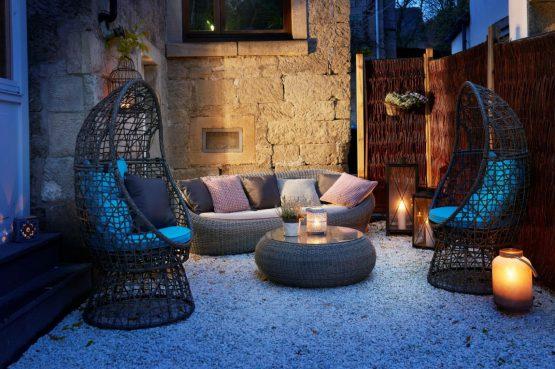 Villapparte-luxe vakantiehuis Lemontree met sauna - 7 personen -Vulkaan Eifel - Duitsland - lounge hoek