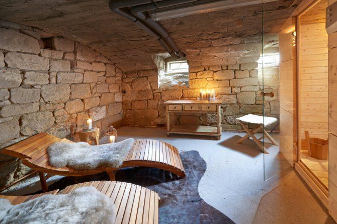 Villapparte-luxe vakantiehuis Lemontree met sauna - 7 personen -Vulkaan Eifel - Duitsland - sauna met ligbedden