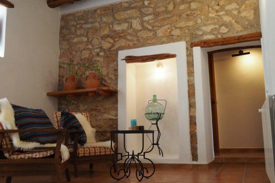 Villapparte - Casa la Vida - luxe vakantiehuis voor 6 personen met zwembad - Ibiza - sfeer zithoek woonkamer