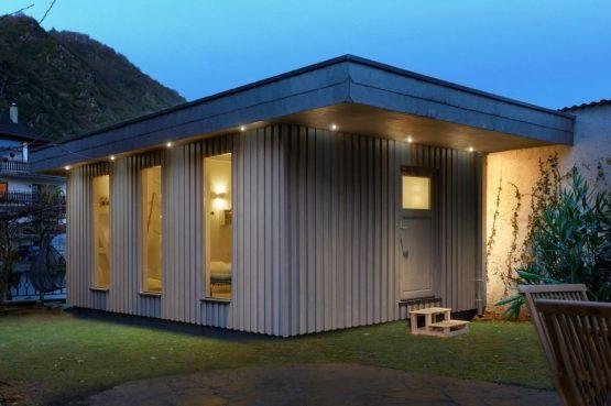 Villapparte-luxe vakantiehuis Appletree met sauna - 12 personen -Moezel - Duitsland -Sauna in de tuin