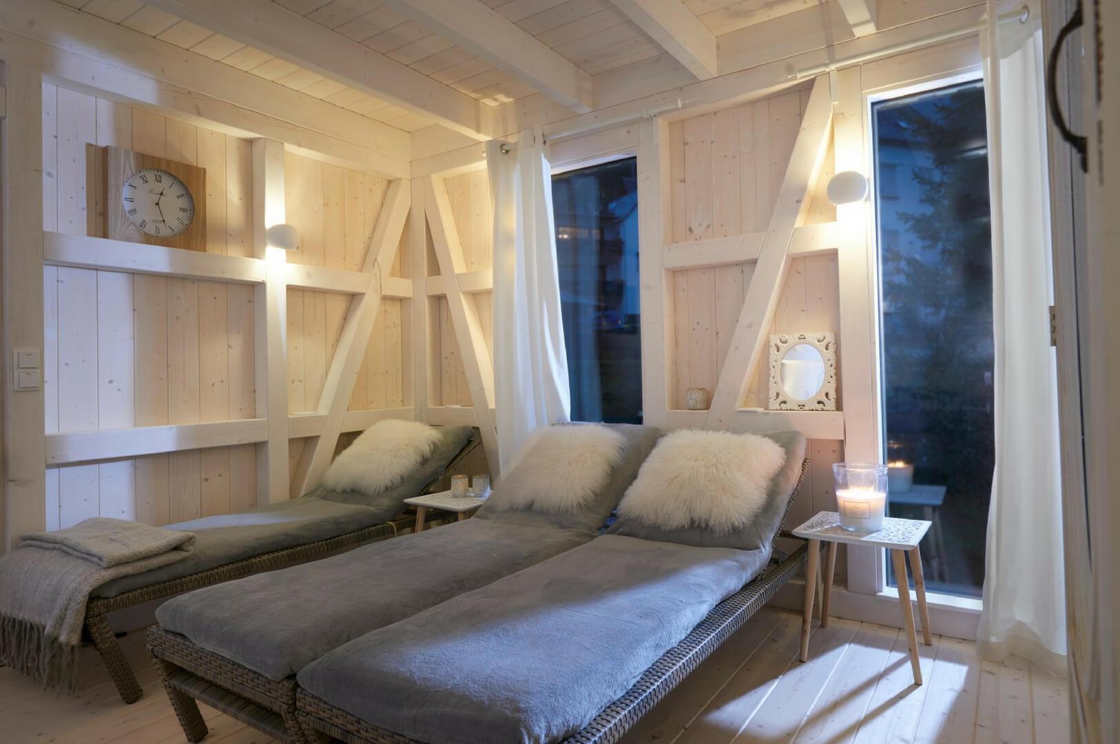 villapparte luxe vakantiehuis appletree met sauna 12 personen moezel duitsland relaxruimte