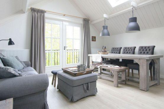 B&B de Linge-Villapparte-luxe en sfeervolle B&B_Gellicum_Gelderland_eethoek