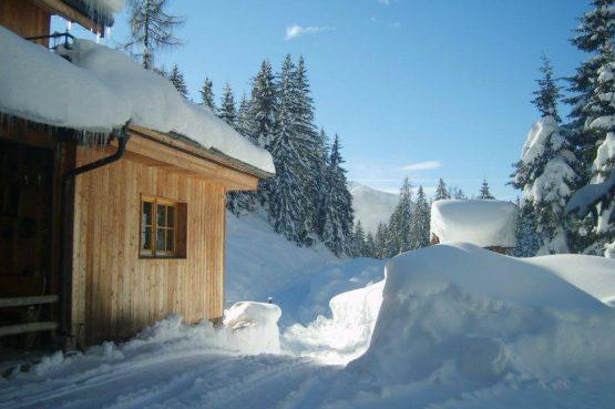 MandlWand Lodge - Villapparte - 9 luxe appartementen met Sauna Welness - Salzburgerland - Oostenrijk - MandlWand Lodge uitzicht