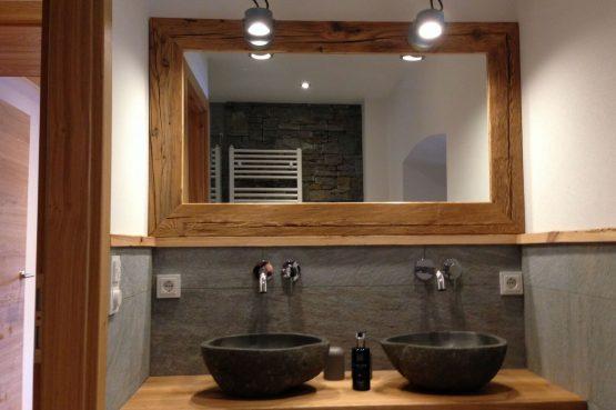 MandlWand Lodge - Villapparte - 9 luxe appartementen met Sauna Welness - Salzburgerland - Oostenrijk - badkamer