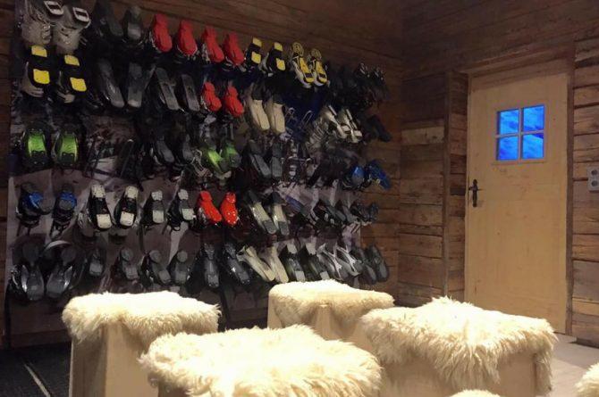MandlWand Lodge - Villapparte - 9 luxe appartementen met Sauna Welness - Salzburgerland - Oostenrijk - ski ruimte