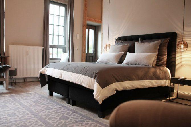 The Backyard-Villapparte-exclusieve design appartementen- 2 personen-Trier-Duitsland-slaapkamer