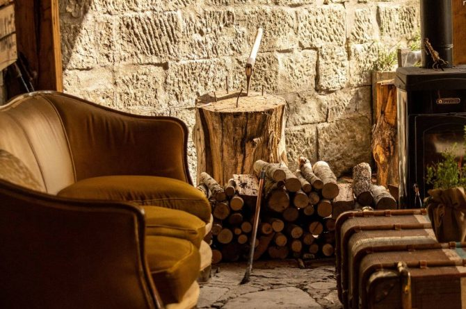 Boutique hotel Novanta-Villapparte-Italië-Toscane-authentiek en traditioneel belevingshotel-sfeer hoekje