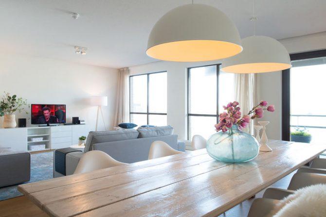 Villapparte-Belvilla-Appartement Scheveningen 22c-Luxe appartement voor 4 personen-Scheveningen-eethoek