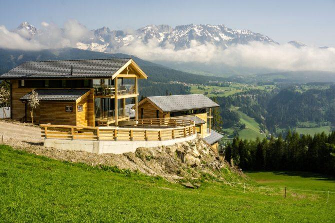 Villapparte-Belvilla-Chalet Reiteralm-luxe chalet voor 8 personen in Schladming-Oostenrijk