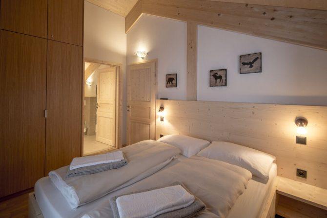 Villapparte-Belvilla-Chalet Reiteralm-luxe chalet voor 8 personen in Schladming-Oostenrijk-luxe slaapkamer