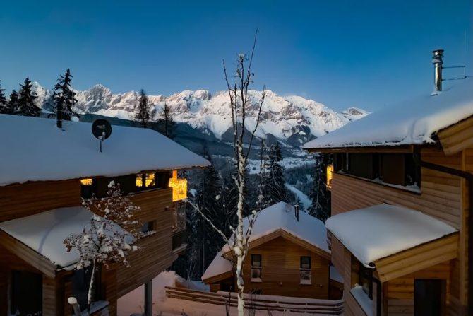 Villapparte-Belvilla-Chalet Reiteralm-luxe chalet voor 8 personen in Schladming-Oostenrijk-wintersfeer