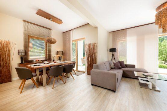 Villapparte-Belvilla-Chalet Thumersbach-Luxe chalet voor 8 personen in Zell am See-Oostenrijk-eethoek