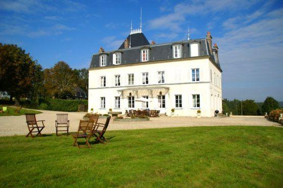 Villapparte-Belvilla- Kasteel Chateau in Asnières - Normandië-vakantiehuis voor 19 personen-authentiek kasteel-hoofdfoto