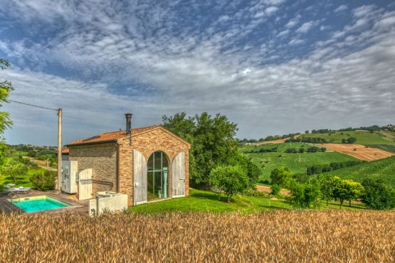 Villapparte-Belvilla-Vakantie Casa Strappa Le Marche in Italië-vakantiehuis voor 2 personen