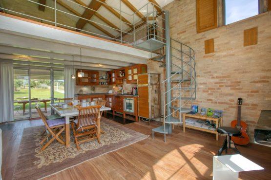 Villapparte-Belvilla-Vakantie Casa Strappa Le Marche in Italië-vakantiehuis voor 2 personen-complete keuken
