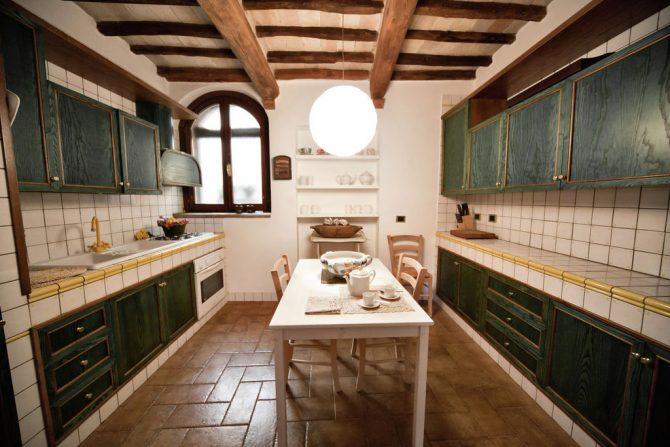 Villapparte-Belvilla-Vakantiehuis Casa Bevagna Umbrië Italië-vakantiehuis voor 5 personen-complete keuken