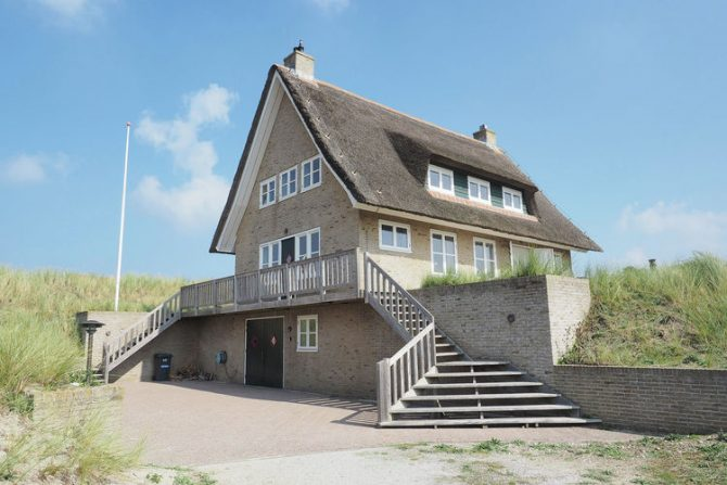 Villapparte-Belvilla-Villa Duindroom-luxe vakantiehuis voor 6 personen in Midsland-Terschelling-trappen