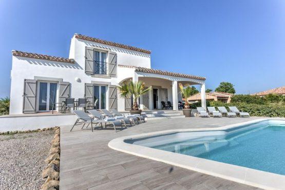 Villapparte-Belvilla-Villa Luna Languedoc-luxe vakantiehuis voor 8 personen-privé zwembad-Frankrijk