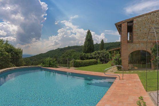 Villapparte-Belvilla-Villa Melograno Toscane Italië-luxe vakantiehuis voor 10 personen-met zwembad