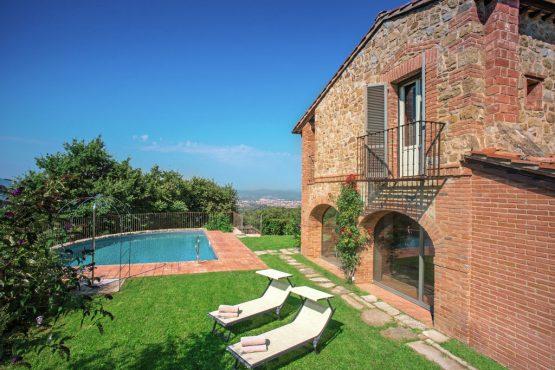 Villapparte-Belvilla-Villa Melograno Toscane Italië-luxe vakantiehuis voor 10 personen