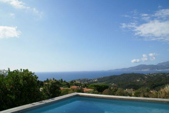 Villapparte-Belvilla-Villa Seaview-Luxe vakantievilla in Albitreccia-6 personen-met zwembad-Frankrijk-Corsica-uitzicht op zee