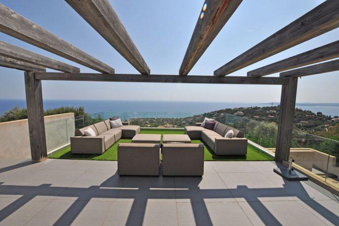 Villapparte-Belvilla-Villa Six Cent Douze-luxe vakantiehuis-Zuid Frankrijk-uitzicht op zee