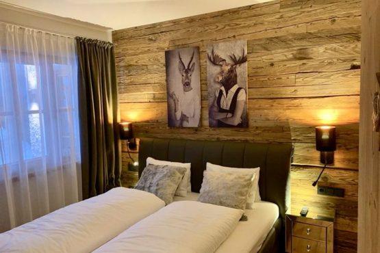Villapparte-Belvilla-Appartement Panorama Chalet 7-Luxe appartement voor 4 personen in Mittersill-Oostenrijk-knusse slaapkamer