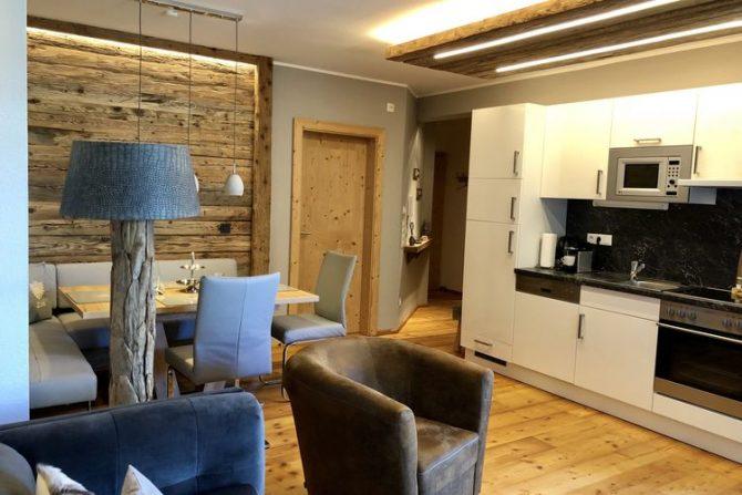 Villapparte-Belvilla-Appartement Panorama Chalet 7-Luxe appartement voor 4 personen in Mittersill-Oostenrijk-luxe keuken