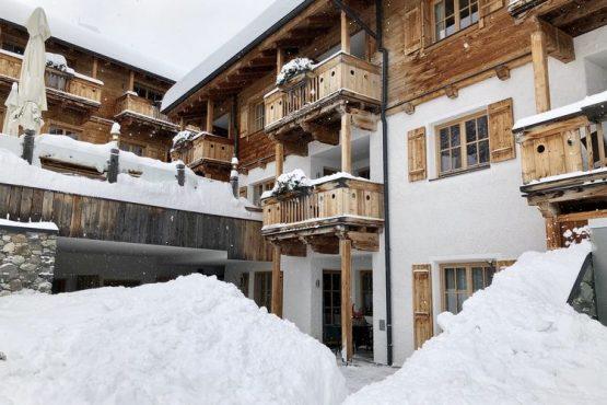 Villapparte-Belvilla-Appartement Panorama Chalet 7-Luxe appartement voor 4 personen in Mittersill-Oostenrijk-winter sfeer